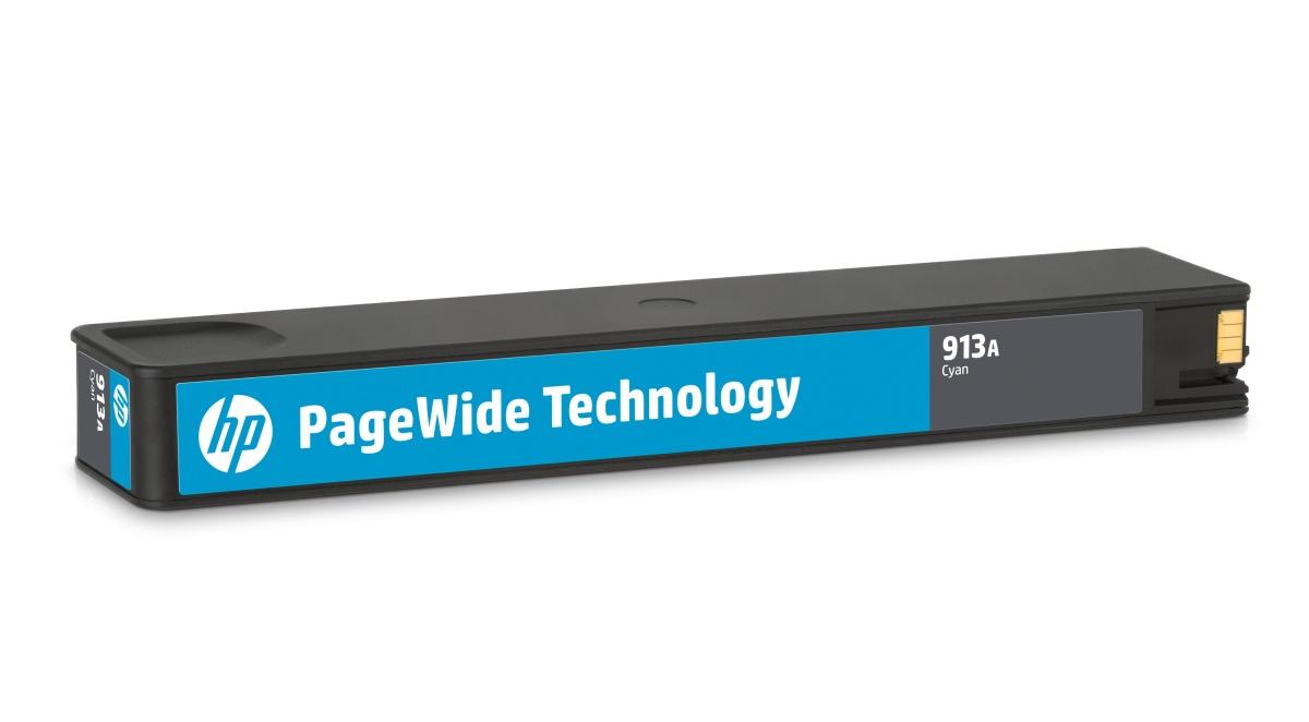 HP F6T77AE 913A Cyan Original PageWide Cartridge