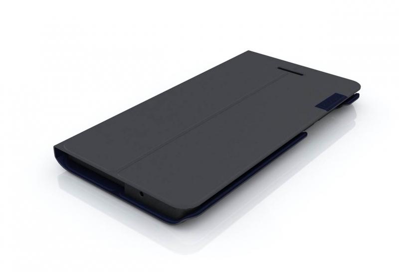 Lenovo TAB3 7 Folio Case and Film - Black