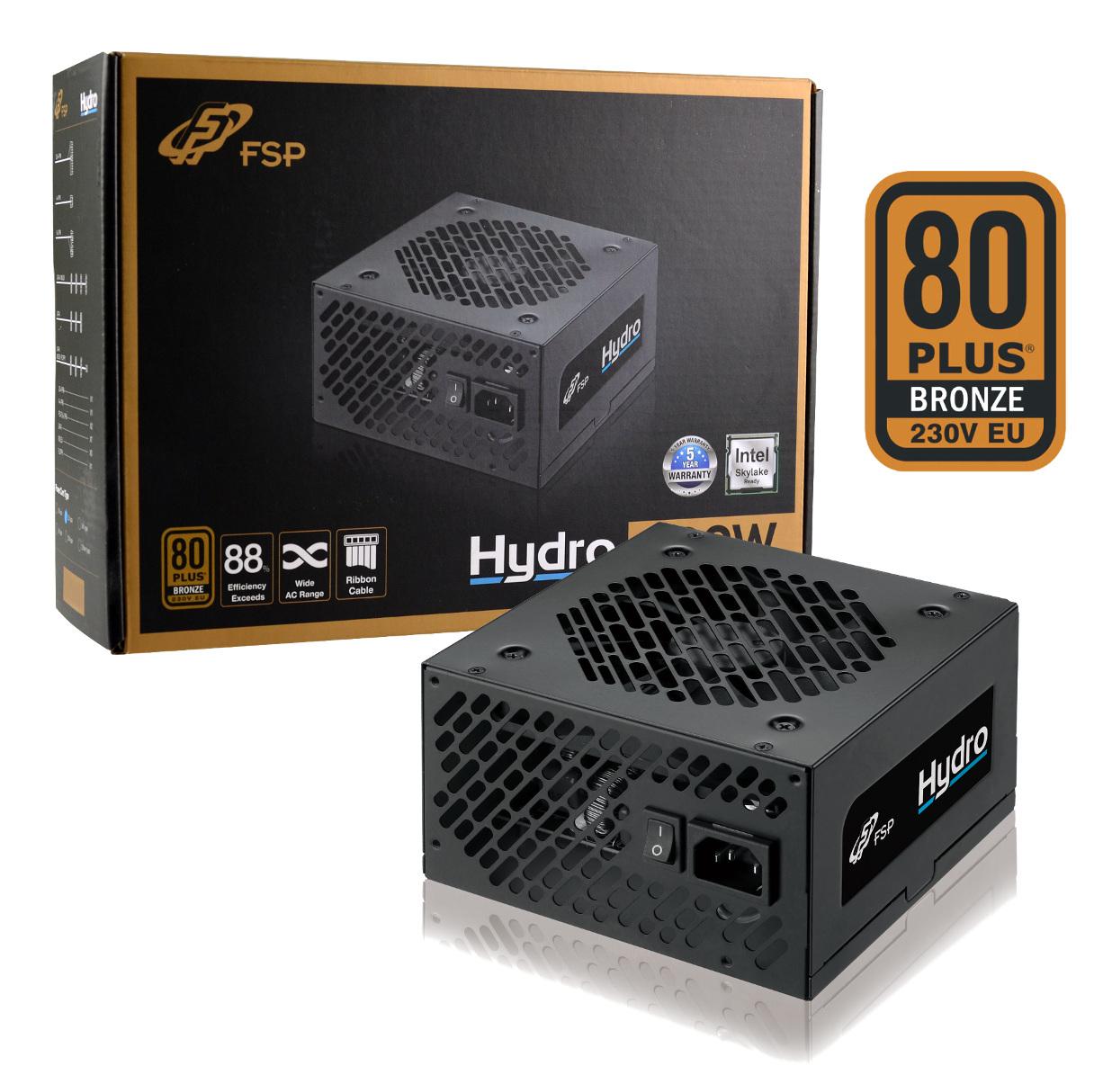 Fortron HYDRO 600W 80PLUS BRONZE 230V