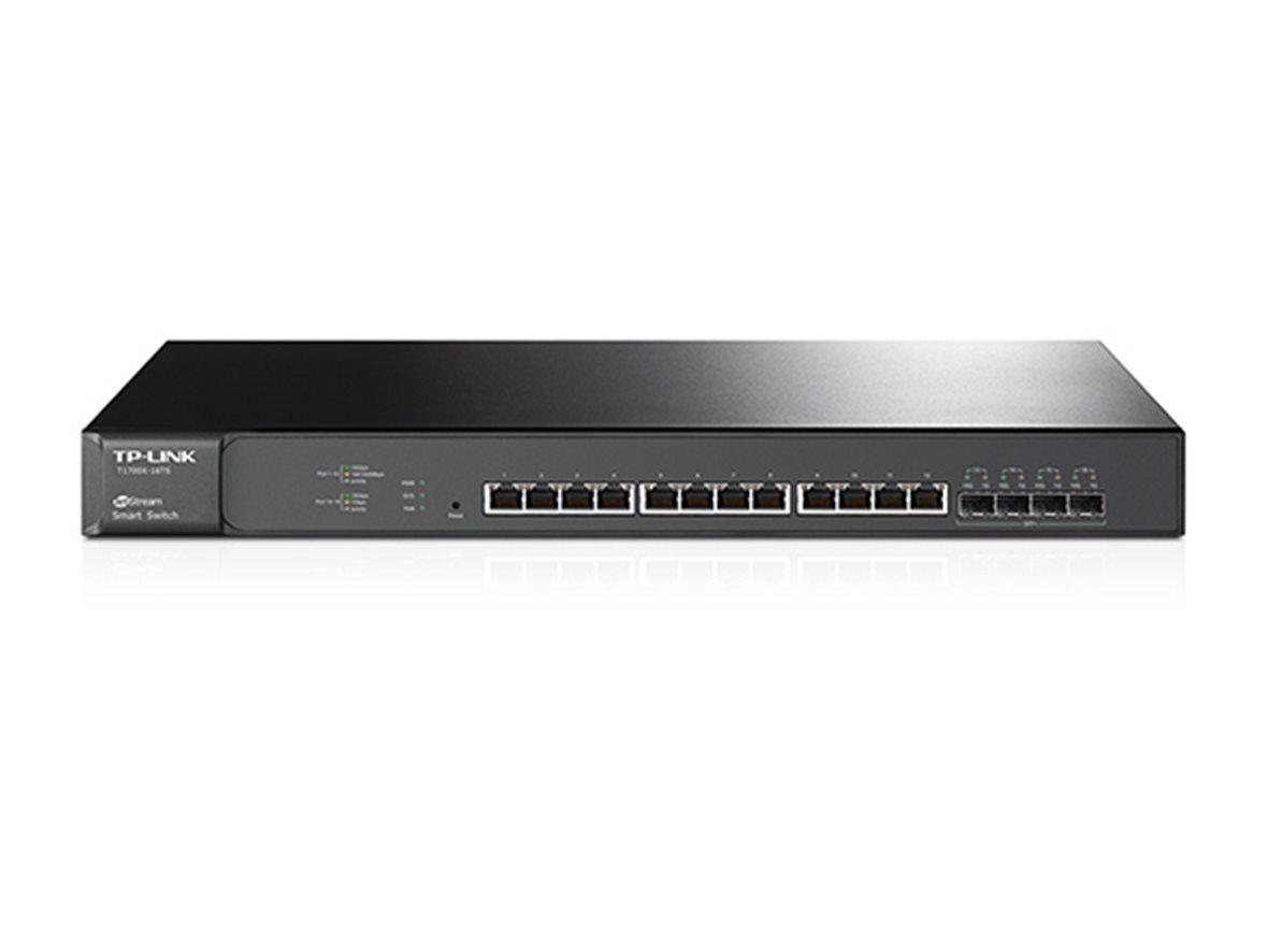 TP-Link T1700X-16TS 12x10Gbit Smart Switch 4xSFP+