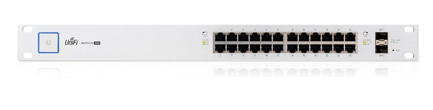 UBNT UniFiSwitch US-24 24Gb,2xSFP, no PoE