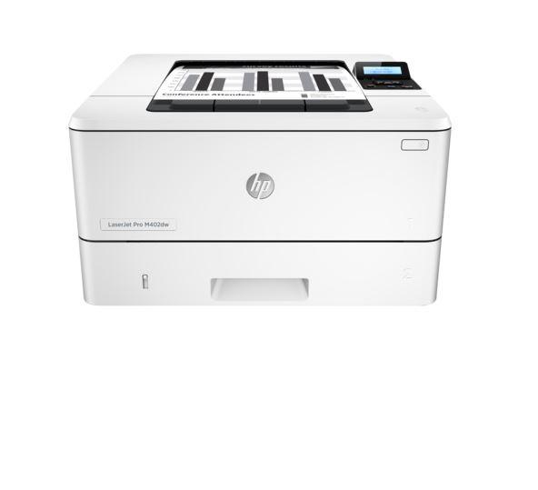 HP LaserJet Pro 400 M402dw (38str/min, A4, USB, Ethernet, Wi-Fi, Duplex)