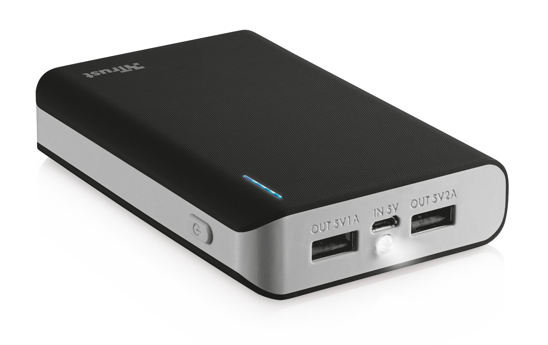 TRUST Primo PowerBank 8800 Portable Charger - black
