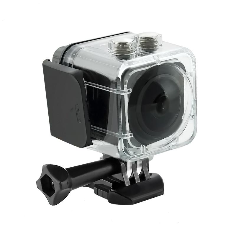 Waterproof Sports Camera Full HD QOLTEC | LCD 0.82'' | 360st | black