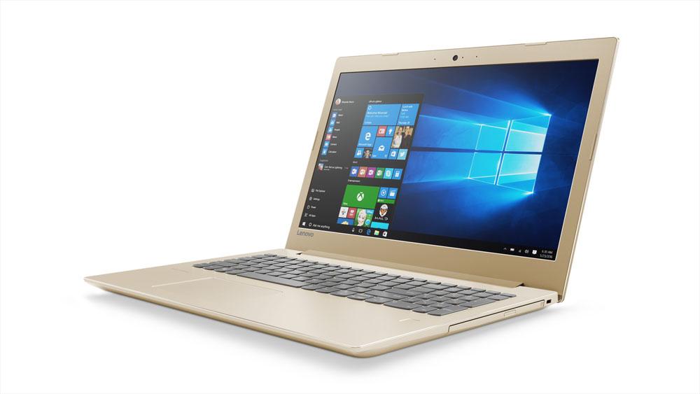 """Lenovo IdeaPad 520-15IKBR i7-8550U 4,0GHz/16GB/SSD 128GB+1TB HDD/15,6"""" FHD/IPS/AG/GeForce 4GB/DVD-RW/WIN10 zlatá"""