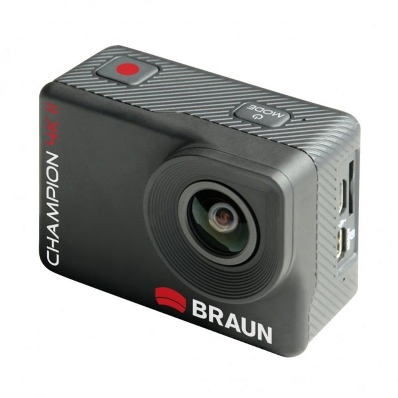Braun outdoorová videokamera Champion 4K II, WiFi, s vodotěsným pouzdrem
