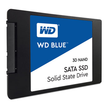 "WD BLUE SSD WDS500G2B0A 500GB SATA/600, (R:560, W:530MB/s), 2.5"""
