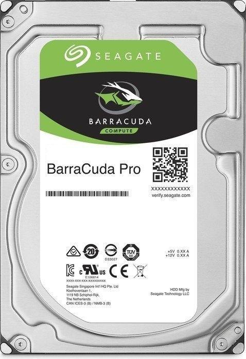 "Seagate BarraCuda PRO 3.5"" HDD, 4TB, 3.5"", SATAIII, 128MB cache, 7.200RPM"