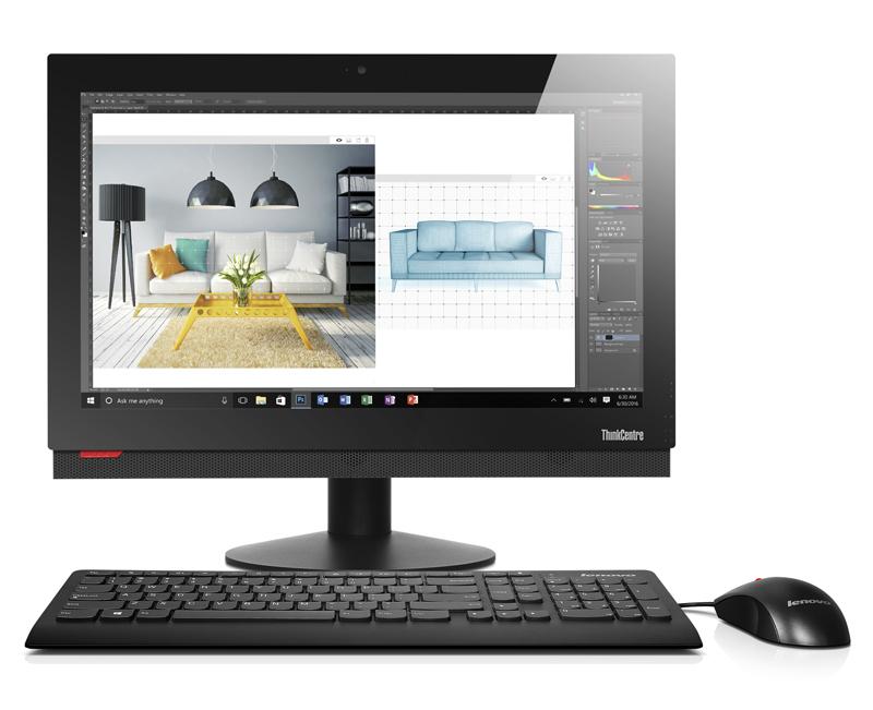 "Lenovo AIO ThinkCentre M810z i3-7400/8GB/256GB SSD/21,5"" FHD/DVD-RW/Win10PRO"