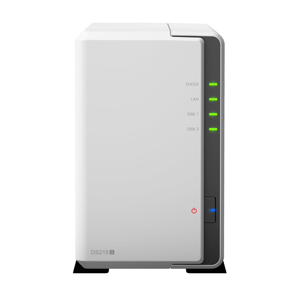 Synology NAS DS218j 2xSATA server, Gb LAN