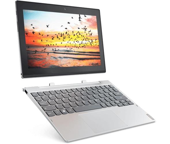 """Lenovo MiiX 320 Atom x5-Z8350 1,92GHz/2GB/64GB/10,1"""" HD/IPS/multitouch/WIFI/KBRDdock/WIN10 stříbrná 80XF001DCK"""