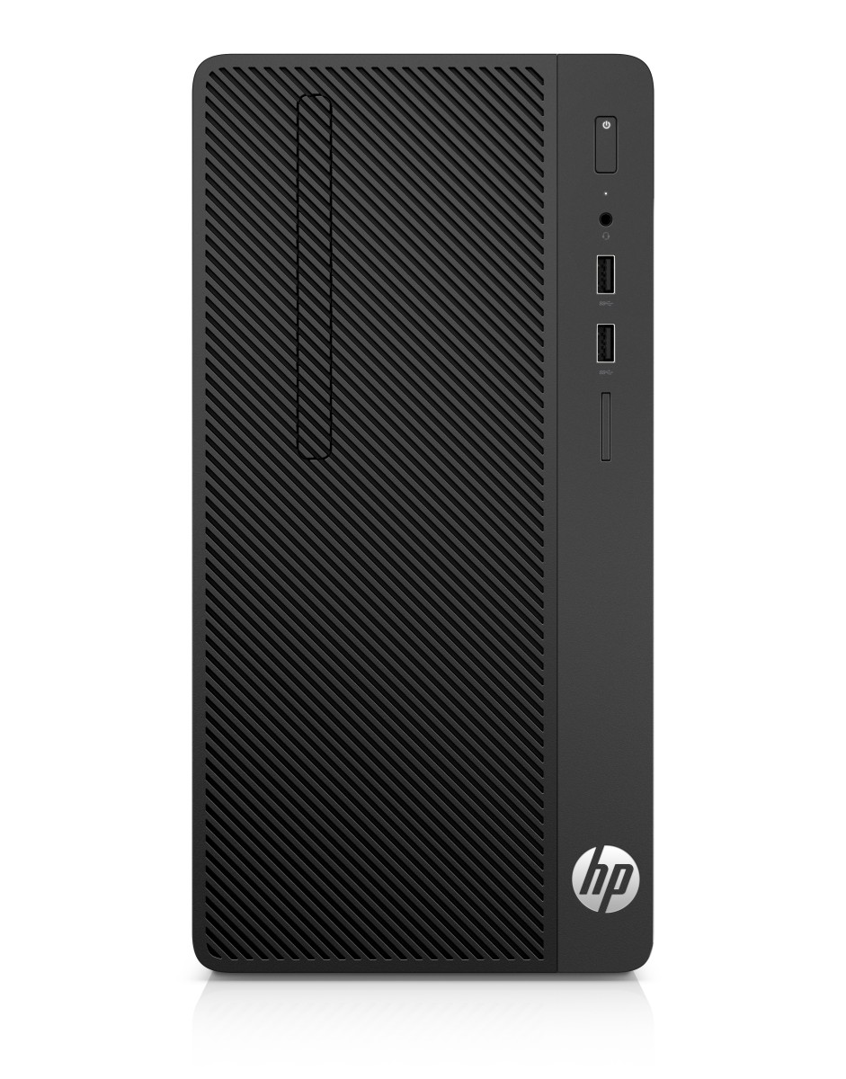 HP PC 290 G1 MT i3-7100 4GB 128GB SSD intelHD DVDRW W10P