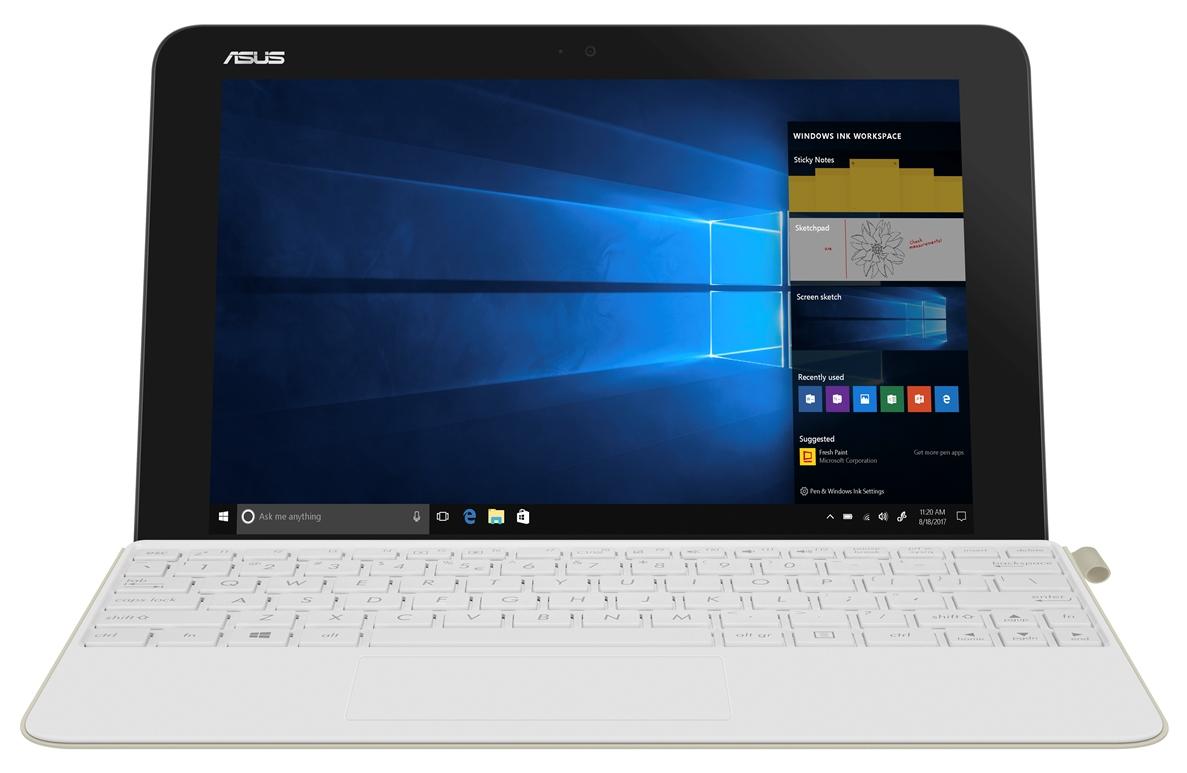 """ASUS T103HAF-GR027T Atom x5-Z8350/10,1"""" IPS 1280x800 WXGA/4GB/64GB EMMC/HDMI/BT/Cam/W10 Home/White"""