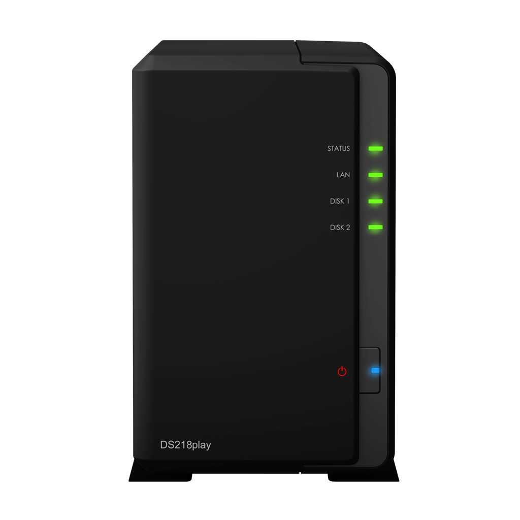 Synology NAS DS218play 2xSATA server, Gb LAN