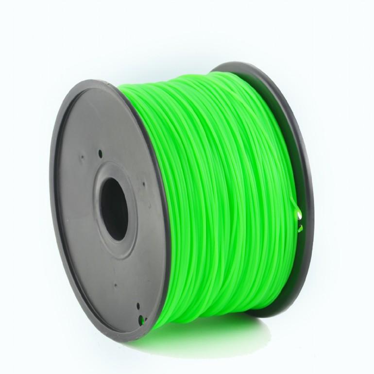 Tisková struna Gembird HIPS zelená | 1,75mm | 1kg