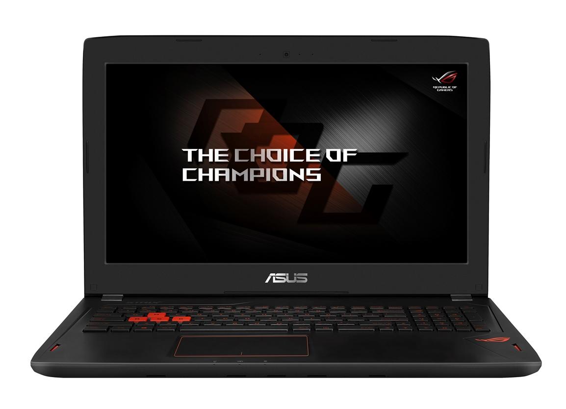 """ASUS GL502VS-FY247T i7-7700HQ/8GB+8GB/256GB SSD M.2+1TB 7200 ot./GeForce GTX1070/15.6"""" FHD LED matný/W10 Home/Black"""