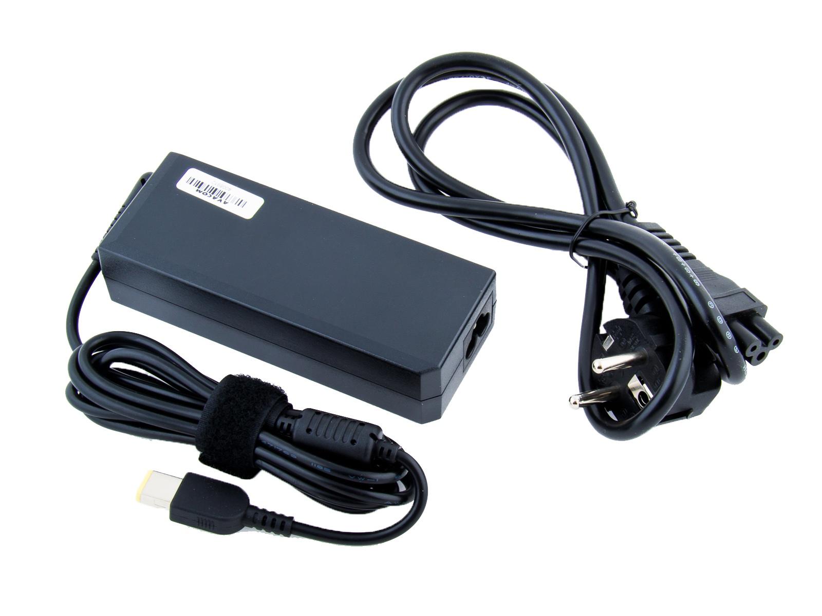 Nabíjecí adaptér AVACOM pro notebook IBM/Lenovo 20V 4,5A 90W hranatý konektor
