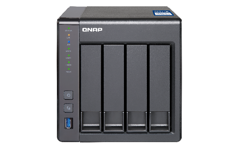 QNAP TS-431X-8G (1,7G/8GB RAM/4xSATA,1x10GbE SFP+)