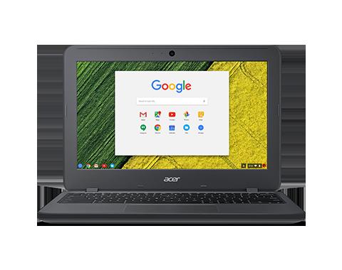 "Acer Chromebook 11 N7 (C731-C9G3) Celeron N3160/4GB+N/A/eMMC 32GB+N/A/HD Graphics/11.6"" HD matný/BT/Google Chrome/Gray"