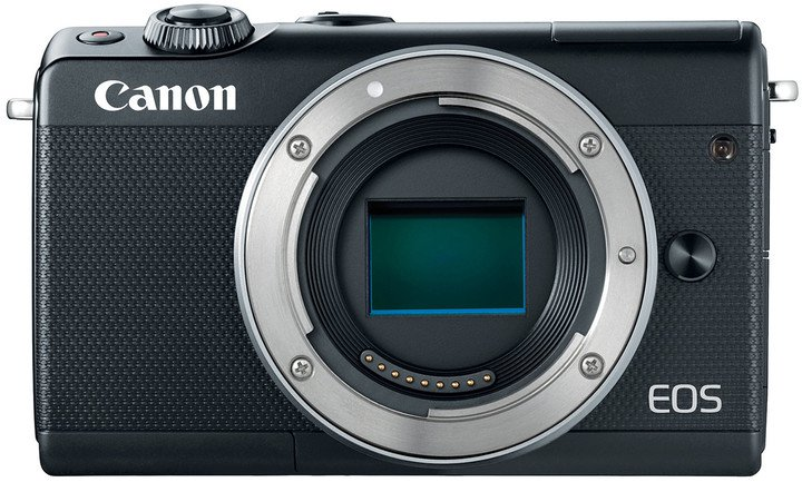 "Canon EOS M100 Body Black, bezzrcadlovka , 24 MP, 3,0"", WIFI"