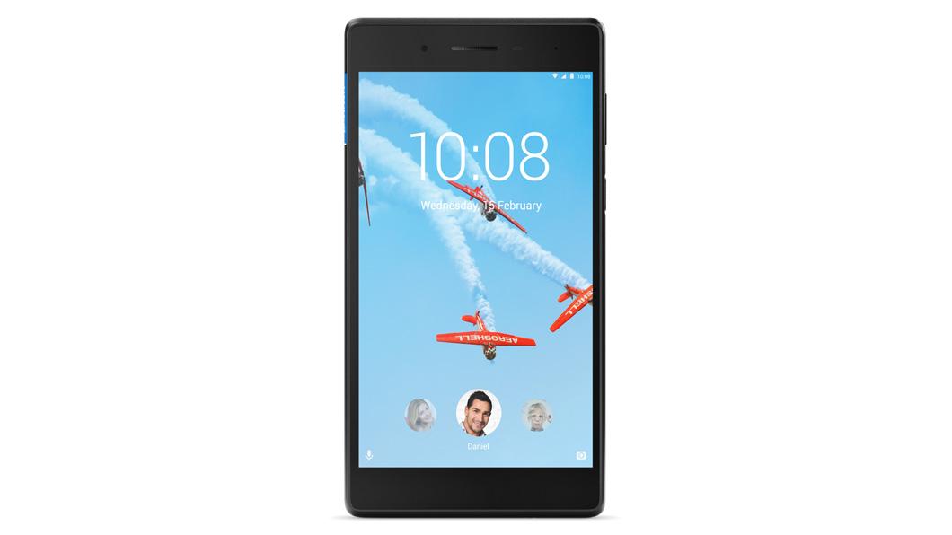 "Lenovo TAB4 7"" LTE QC MT8735D 1,10GHz/1GB/16GB/7"" HD/IPS/multitouch/LTE/Android 7 černá ZA330078CZ"