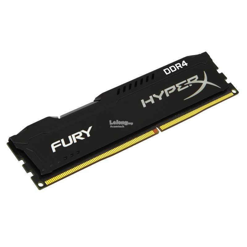 KINGSTON 16GB 2666MHz DDR4 CL16 DIMM HyperX FURY Black