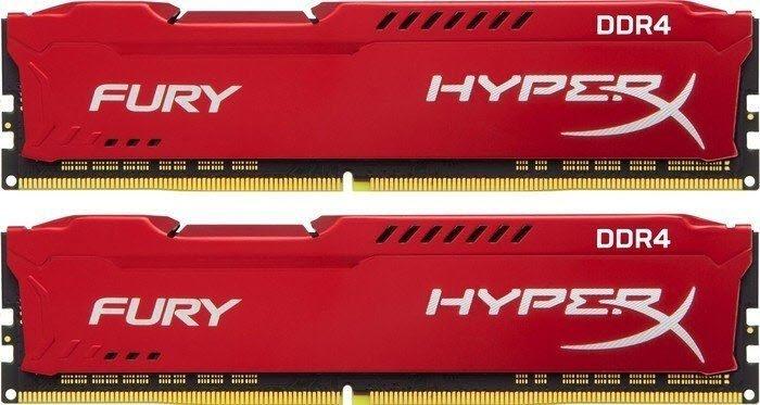 Kingston DDR4 32GB (Kit 2x16GB) HyperX FURY DIMM 3466MHz CL19 červená