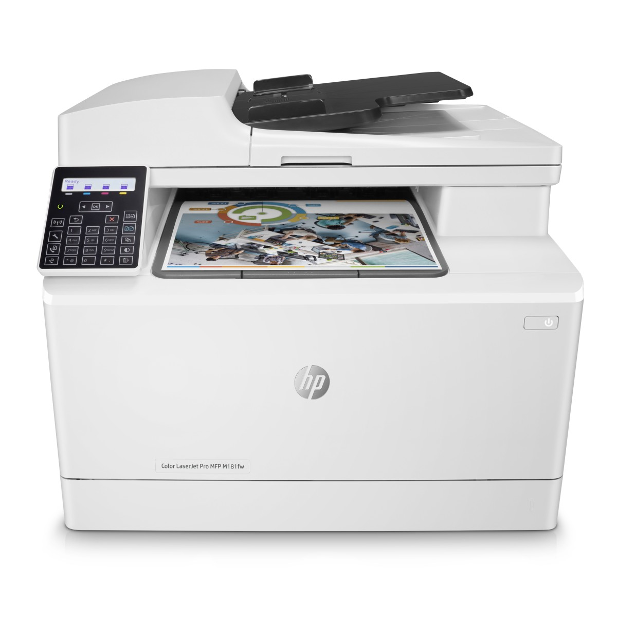 HP Color LaserJet Pro MFP M181fw (A4, 16/16 ppm, USB 2.0, Ethernet, Wi-Fi, Print/Scan/Copy, Fax)