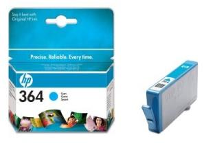 HEWLETT PACKARD Cartridge 364 azurová