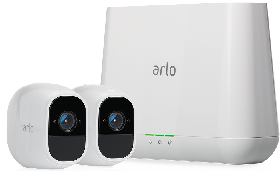 ARLO PRO 2 FHD (1080p) 2 x Camera Smart Security System Wire Free (VMS4230P)