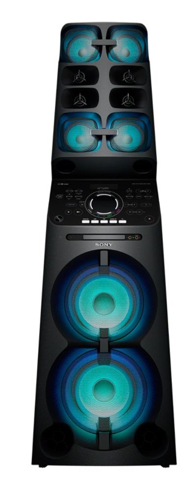 SONY MH-CV90DW Výkonný domácí hudební systém z řady High Power Audio s koleckama