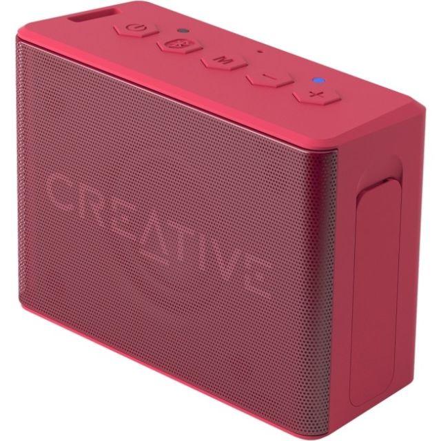 Creative repro Muvo 2C mobilní vodovzdorný bezdrátový reproduktor - růžový