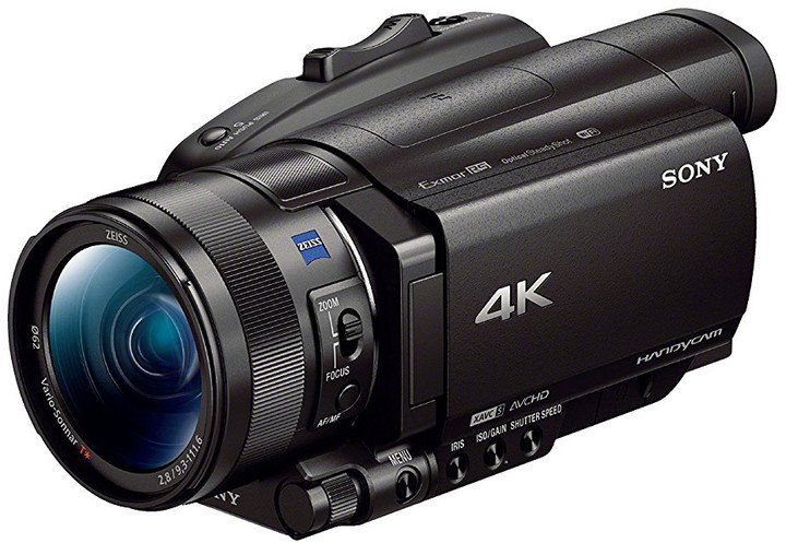 Sony UHD 4K HDR (HLG) videokamera FDR-AX700