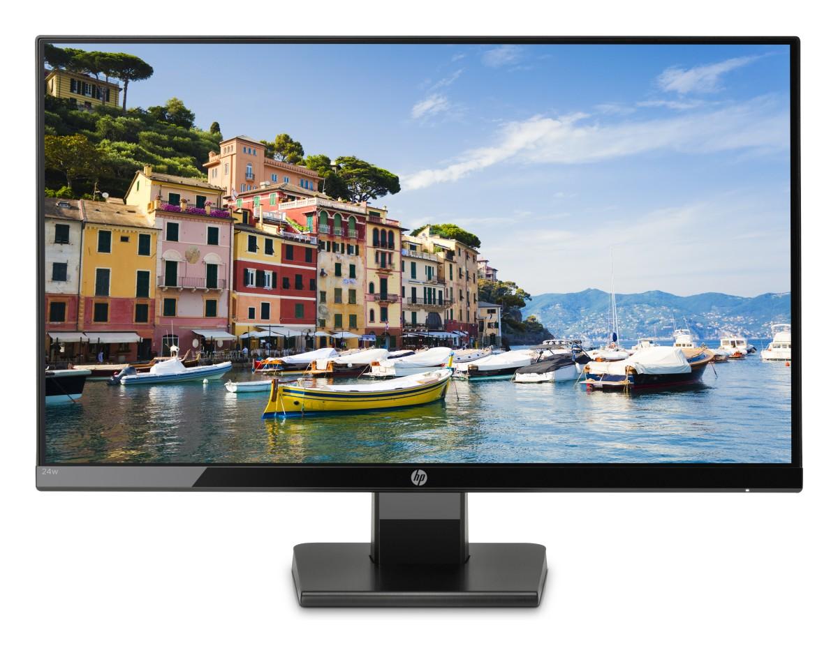 """HP 24w 23.8"""" FHD/IPS/1000:1/250/VGA/HDMI/5ms"""