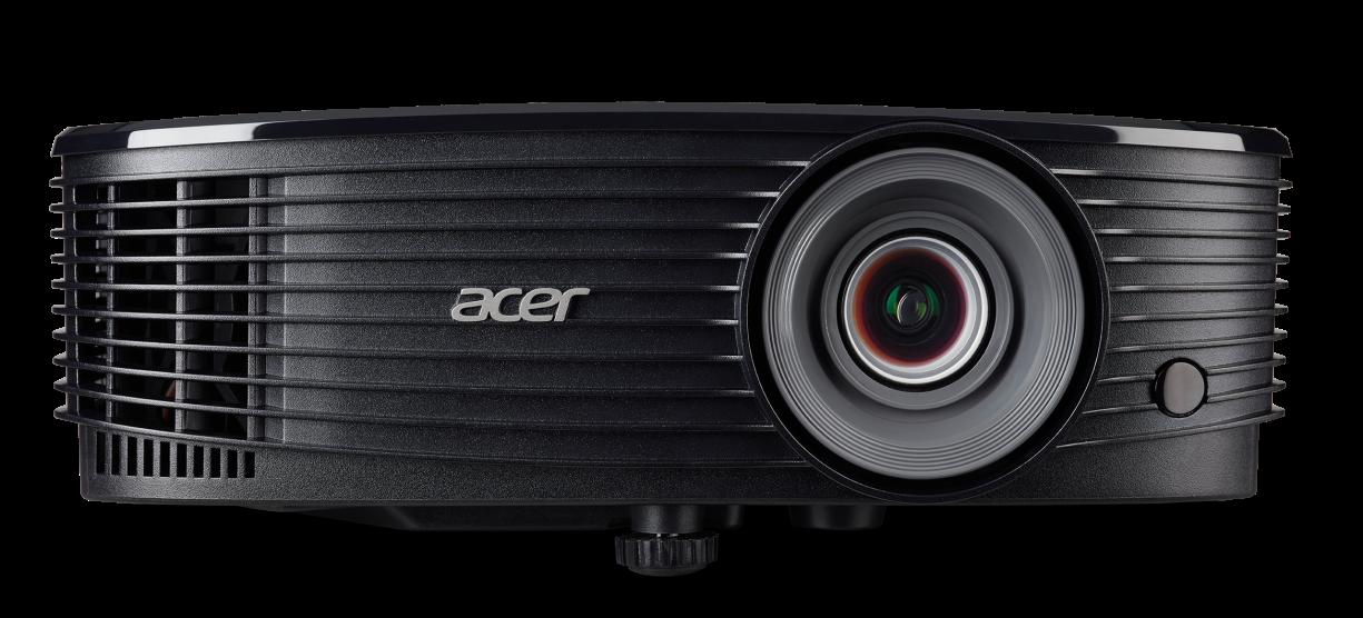Acer X1323WH DLP 3D/1280x800 WXGA/3700 ANSI lm/20 000:1/VGA, HDMI, 2.25kg
