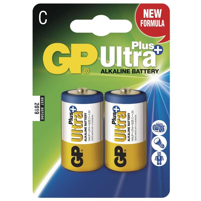 GP C Ultra Plus, alkalická - 2 ks