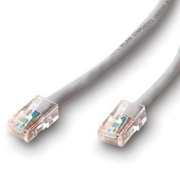 Belkin kabel PATCH UTP CAT5e 5m šedý, bulk montovaný