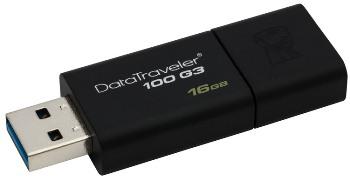 Kingston DataTraveler 100 G3 16GB černý (DT100G3/16GB)