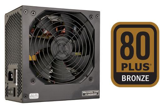 FSP/Fortron FSP500-60GHN 80PLUS BRONZE, bulk, 500W, black