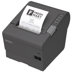 EPSON TM-T88V-042 - černá/USB/serial/zdroj/řezačka/EU kabel