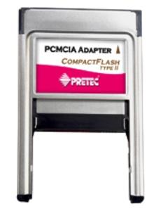 Pretec CompactFlash Type I/II PCMCIA Adapter