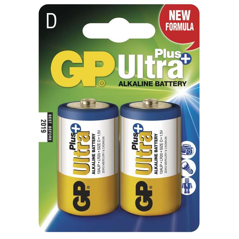GP D Ultra Plus, alkalická - 2 ks