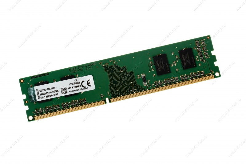 KINGSTON DDR3 2GB 1600MHz DDR3 Non-ECC CL11 DIMM SR X16