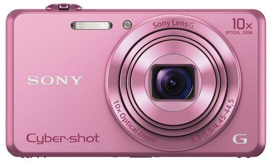 Sony Cyber-Shot DSC-WX220 růžová,18,2Mpix,10xOZ,fullHD,WiFi