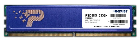 8GB DDR3 1333MHz Patriot CL9 s chladičem