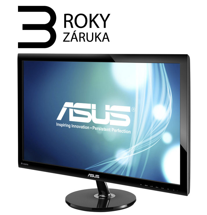 "27"" LED ASUS VS278Q - Full HD, 16:9, HDMI, VGA, DP, repro."
