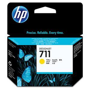 HP CZ132A No. 711 Yellow Ink Cart pro DSJ T120, 29 ml