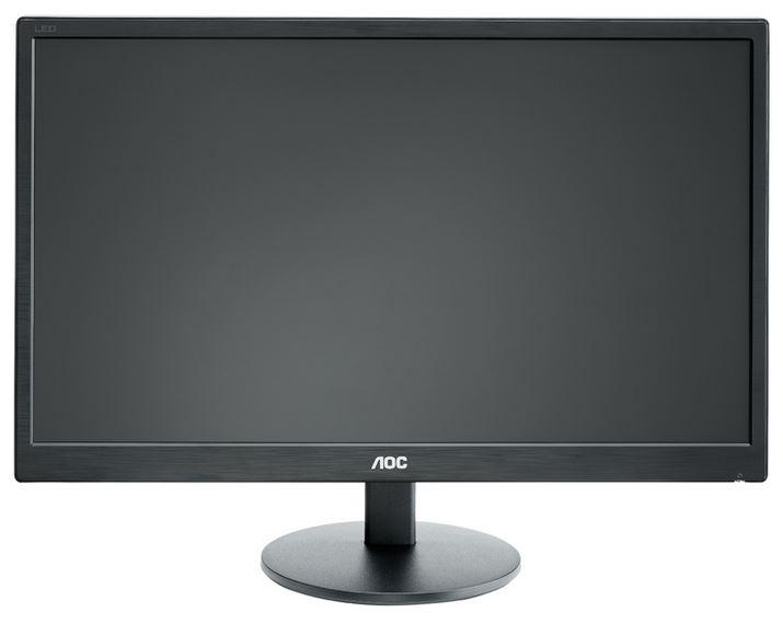 """Monitor AOC 21,5"""" LED e2270Swn 16:9 1920x1080/ 20.000.000:1/ 5ms/ D-SUB/ černý"""