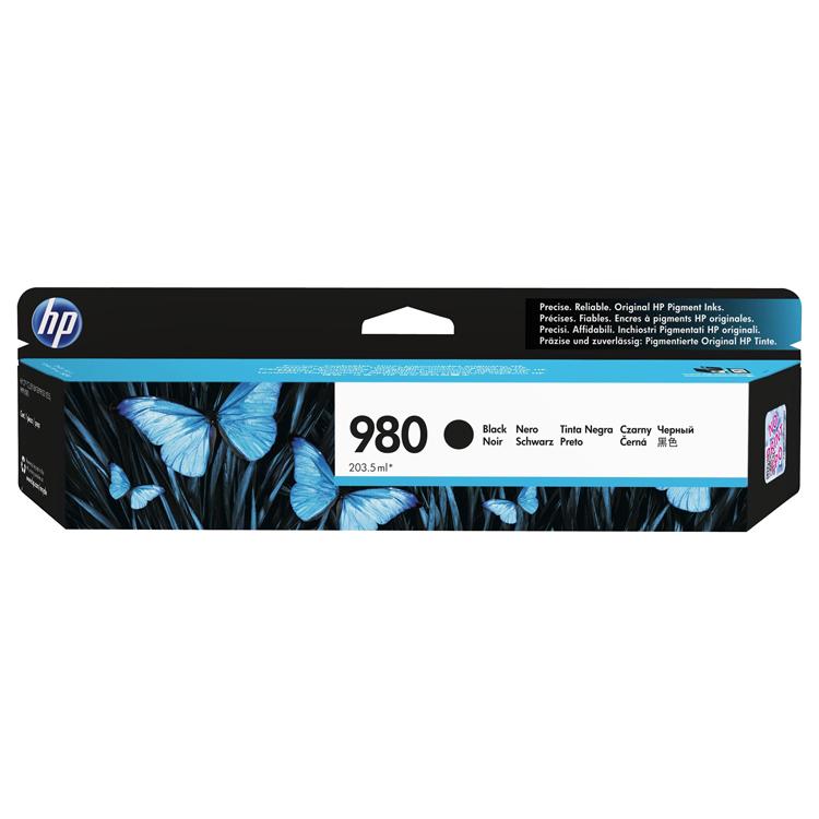 HP 980 BlackInk Cart, D8J10A