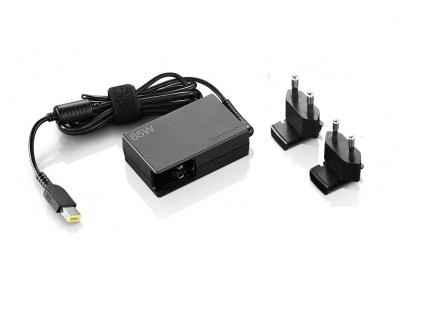 Lenovo TP adapter ThinkPad 65W AC-EU (Slim Tip) cestovní